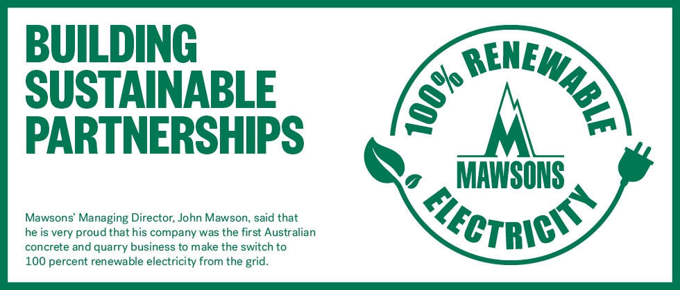 Mawsons_100% renewable electricity